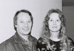 Joe and Karen Lansdale at the 1989 World Fantasy Convention
