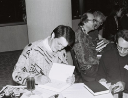 Robert McCammon at the 1989 World Fantasy Convention